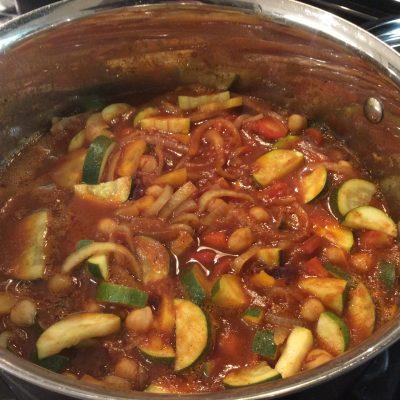 Moroccan Inspired Vegetable Medley
