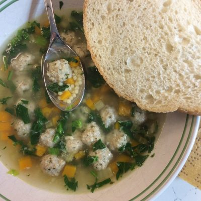 A Royal Soup – AKA Italian Wedding Soup