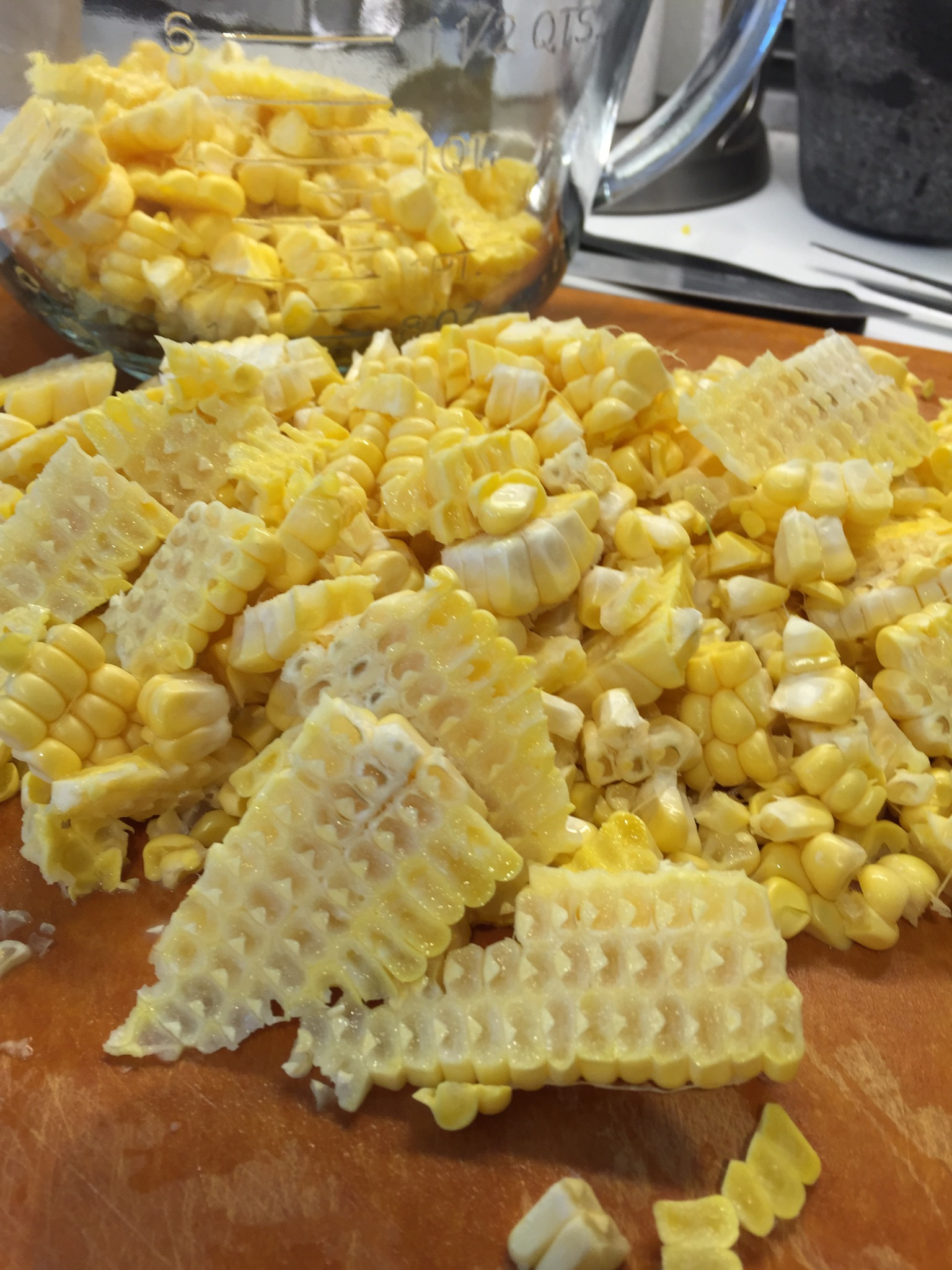 Use fresh or frozen corn