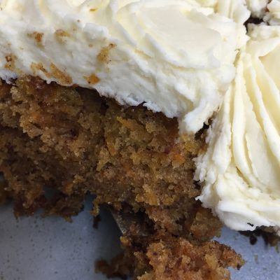 Glorious Carrot Cake: it really is a salad in camouflage…