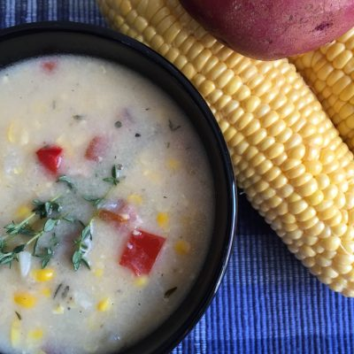 Empty Nesters and Corn Chowder