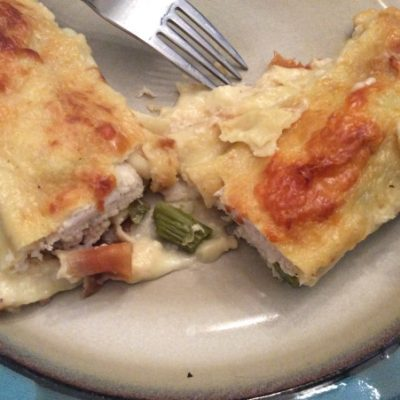 A Celebration of Old Classics: Chicken, Asparagus and Gruyère Crêpes