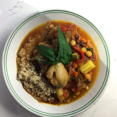 When fall returns to haunt June weekends… Fragrant Moroccan Chicken Stew
